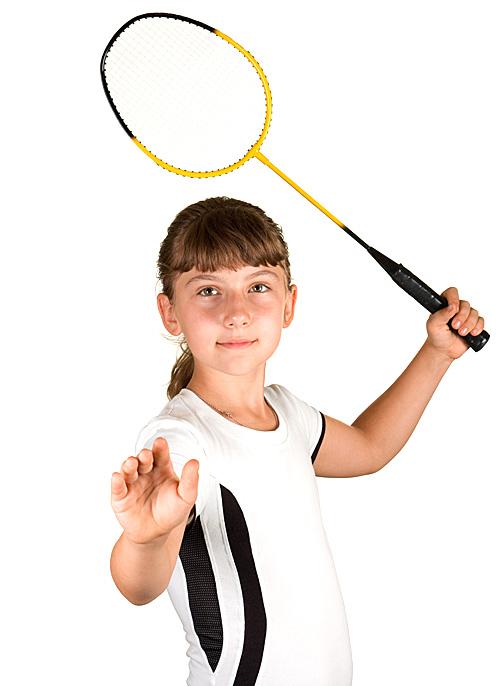 Badminton_tjej1